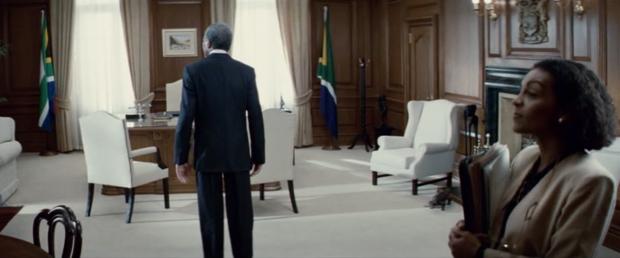 Morgan Freeman als Mandela in Invictus (2009)