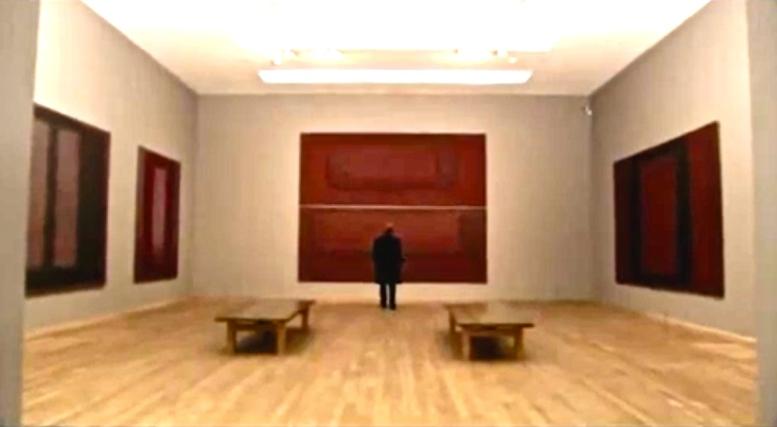 De Seagram Mural's in de Rothko Room van Tate Modern (Londen)